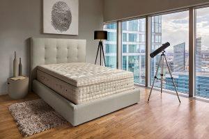 Su combinación con somieres, canapés y camas ASTRAL BEDS permite ofrecer una colección de equipos de descanso de gran calidad, exclusivos y 100% saludables.